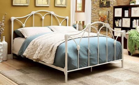 Furniture of America CM7731EK Cecilia Series  King Size Bed