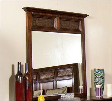 Sunny Designs 2338NMM  Rectangular Portrait Dresser Mirror