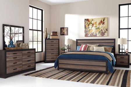 Milo Italia BR478KPBDMNC Walter King Bedroom Sets