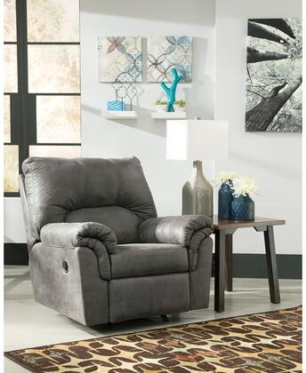 Flash Furniture FSD1209RECSLAGG Bladen Series Contemporary Faux Leather Metal Frame  Recliners