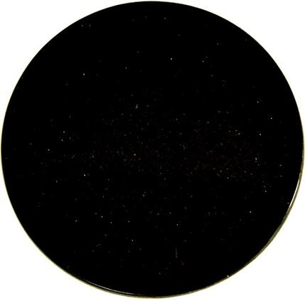 Art Marble Furniture G206RDTOP X Size Round Natural Granite Tabletop in Black Galaxy
