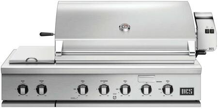 "DCS BH148RSL 48"" Stainless Steel Built-In Grill"