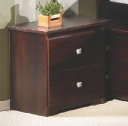 Donco 102 2-Drawer Wood Night Stand In