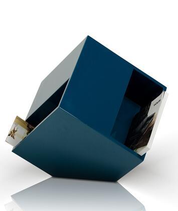 VIG Furniture VGWCBOOKBLU Modrest Series  Wood Magazine Rack