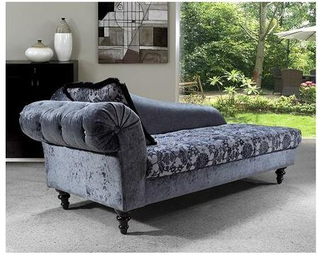 VIG Furniture VG2T0605 Metropolitan Series Transitional Fabric Chaise Lounge