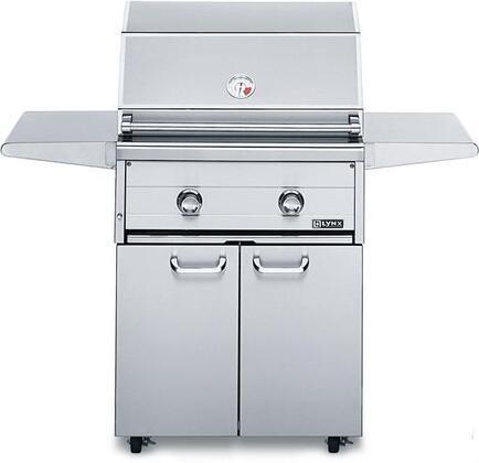 Lynx L27F2LP Freestanding Liquid Propane Grill, in Stainless Steel