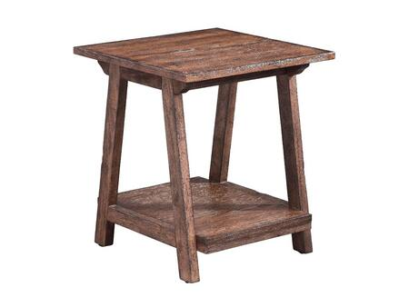 Stein World 110041 Dresden Series Traditional Square End Table