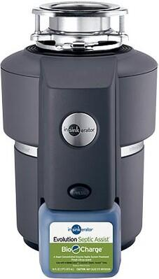 InSinkErator SEPTICASSIST Continuous Feed 3/4 HP Food Disposer