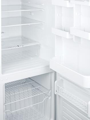 Summit Ffbf100w 24 Inch Bottom Freezer Refrigerator With