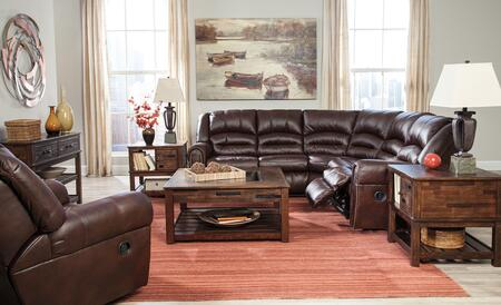 Milo Italia MI5875SETCHOC Darius Living Room Sets