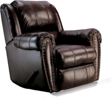 Lane Furniture 2149527542715 Summerlin Series Transitional Leather Wood Frame  Recliners