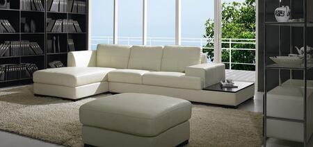 VIG Furniture BO3893  Sofa and Chaise Leather Sofa