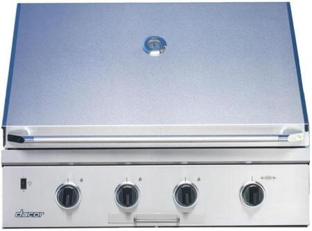 Dacor OB36NG Built-In Grill, in Stainless Steel