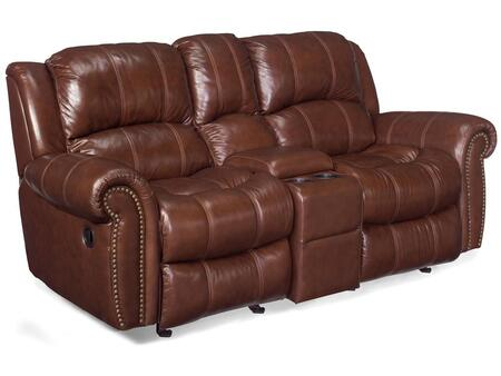 Living Room Cognac Entertainment Sofa