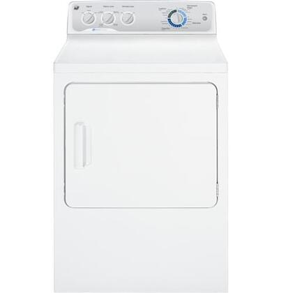 "GE GTDP490GDWS 27"" Gas Dryer"