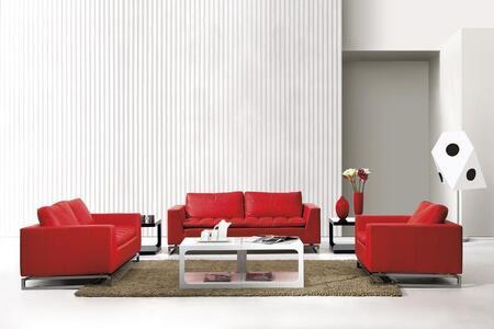 VIG Furniture VGDM10483 Modern Leather Living Room Set
