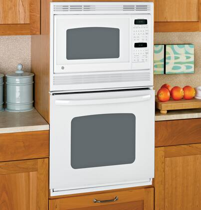 GE JKP90DPWW Double Wall Oven, in White
