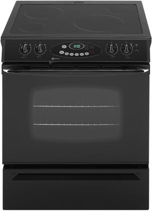 Maytag MES5752BAB  Slide-in Electric Range with Smoothtop Cooktop Storage 4.3 cu. ft. Primary Oven Capacity