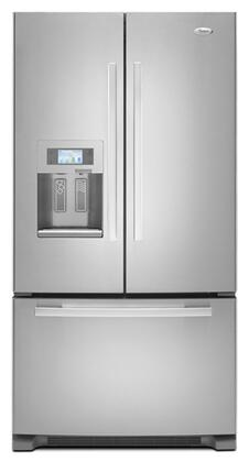 Whirlpool GI7FVCXXA  Counter Depth French Door Refrigerator with 26.6 cu. ft. Total Capacity 4 Glass Shelves