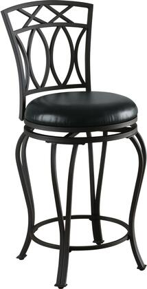 Coaster 122059 Dining Chairs and Bar Stools Series Residential Faux Leather Upholstered Bar Stool