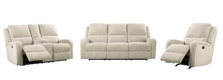 Milo Italia MI9784SLRSAND Miguel Living Room Sets
