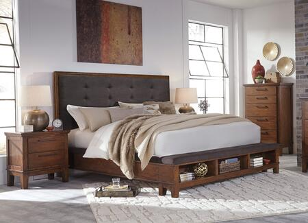 Milo Italia BR6602PCQP2DNKIT1 Holloway Queen Bedroom Sets