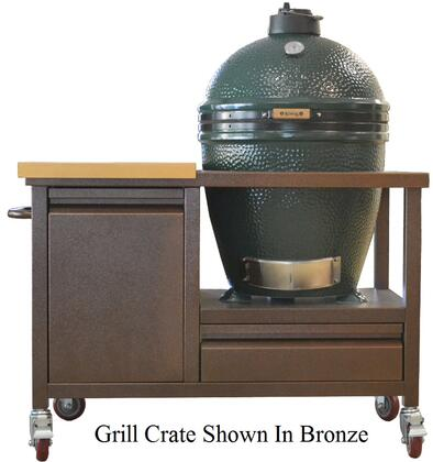 A Front View of the Grill Crate