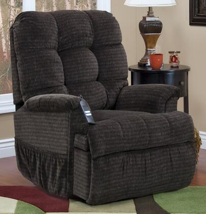 MedLift 5555CAG Contemporary Fabric Wood Frame  Recliners