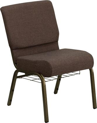 Flash Furniture FDCH02214GVS0819BASGG Hercules Series Fabric Metal Frame Accent Chair
