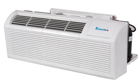 Klimaire KTHM009 9,000 BTU PTAC Packaged Terminal Air Conditioner with 3kw Electric Heater, Quick Condenser, Electronic Controls, Optional Remote, and Easy-Clean Filter in White