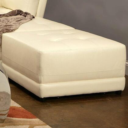 Coaster 500896 Kayson Series Contemporary Leather Ottoman