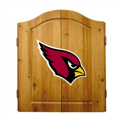 Imperial International 20-10 Complete NFL Themed Dart Cabinet Set With Interior Score Board
