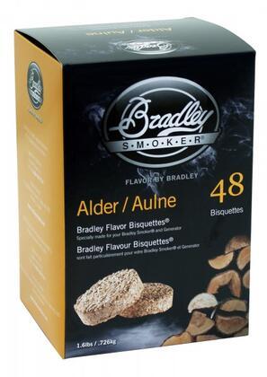 Bradley Smoker BT48 Flavor Bisquettes 48-Pack