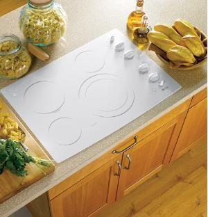 GE Profile PP912TMWW Profile Series Electric Cooktop