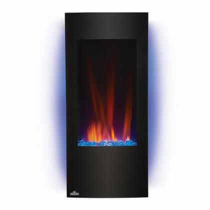 Azure 38 in. Electric Fireplace   Blue Backlit Night Light