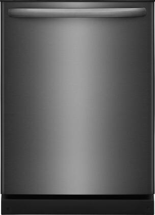 """Frigidaire FFID2426T 24"""" Energy Star Certified Built-In Dishwasher with OrbitClean Spray Arm, Heated Dry, 4 Cycles, Delay Start, and 14 Place Settings, in"""