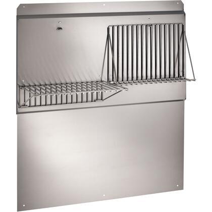 """Broan RMP04 Stainless Steel Pro-Style Backsplash: T"""" Width"""