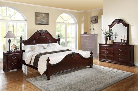 Acme Furniture 21860Q4PCSET Gwyneth Queen Bedroom Sets
