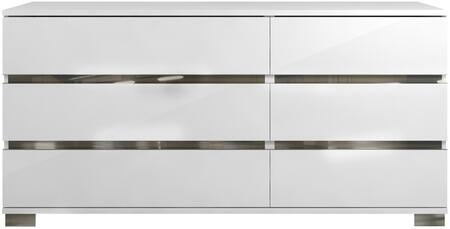 Casabianca TC9003DRWH Spark Series Wood Dresser