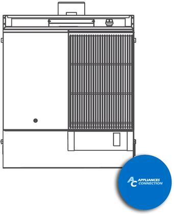 """Southbend P32HC Platinum Series 32"""" Combination Top with One Hot Top and One Charbroiler, Up to 80000 BTUs (NG)/72000 BTUs (LP)"""