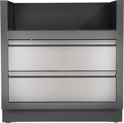 Napoleon IMUGCxCN Oasis Modular Island Under Grill Cabinet for Built-In Grill