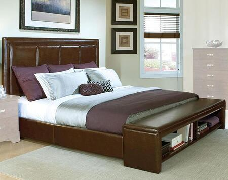 Standard Furniture 93951A Melrose Series  Platform Bed