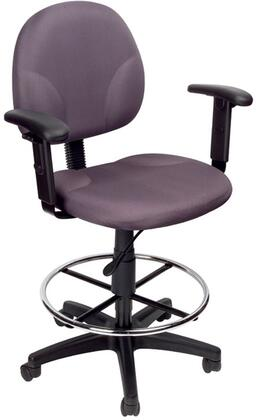 "Boss B1691GY 25"" Adjustable Contemporary Office Chair"