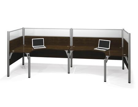 Bestar Furniture 100857B Pro-Biz Double back to back L-desk workstation