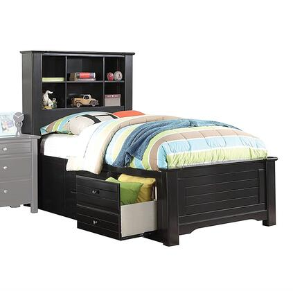 Acme Furniture 30390T Mallowsea Series  Twin Size Bookcase Bed