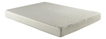 "Atlantic Furniture M4631 CoolSoft Bliss Memory Foam  Gel 9"" Mattress Size with 1.5"" Gell Infused 3 Lbs. Memory Foam, 1.5"" Convoluted Memory Foam and 6"" Thick 1.5 Lbs. Polyurethane Foam Base Layer"