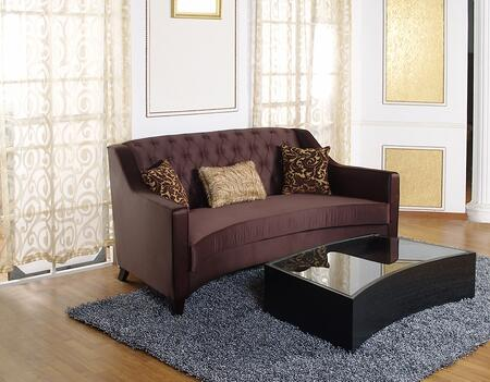 Armen Living LC9043PU Portico Series  Sofa