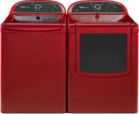 Whirlpool Wtw8500brpair2 Cabrio Platinum Washer And Dryer