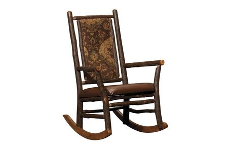 Chelsea Home Furniture 420676GRAIN  Wood Frame Fabric Rocking Chair
