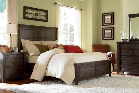 Broyhill ATTICPANELBEDKSET4 Attic Retreat King Bedroom Sets